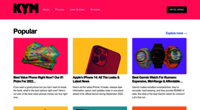 knowyourmobile.com - know your mobile: latest unbiased reviews of mobile phones