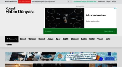 kocaelihaberdunyasi.com - kocaeli haber dünyası  kocaeli´nin sesi