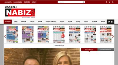 kocaelinabiz.com - kocaeli´nin nabzını tutuyoruz