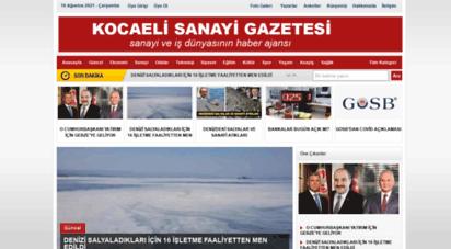 kocaelisanayigazetesi.com - kocaeli sanayi gazetesi