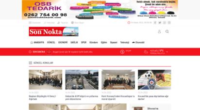 kocaelisonnokta.com - haber ve yorumda son nokta