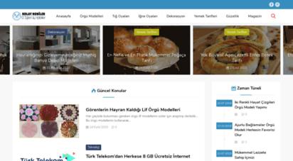kolayhobiler.com - kolay hobiler — türkiye´nin en güzel hobi ve el işleri sitesi