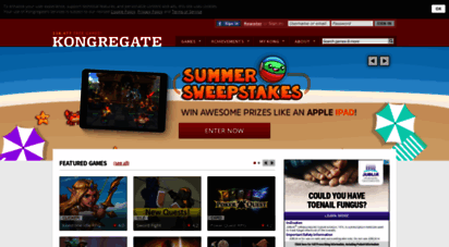 kongregate.com - kongregate: play free games online