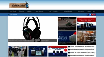 kontrolkalemi.com - kontrolkalemi.com  elektik, elektronik, otomasyon portalı