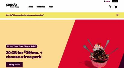 koodomobile.com - koodo mobile  home