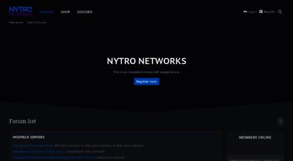 Welcome to Kookykraftmc com - Nytro Networks