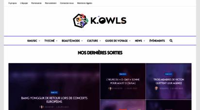 koreasowls.fr - k.owls