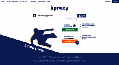 kproxy.com - kproxy - free anonymous web proxy - anonymous proxy
