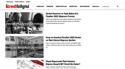 kredibilgisi.net - kredi bilgisi — bankacılık, ekonomi ve finans haberleri