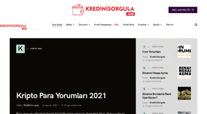 kredinisorgula.com - findeks kredi notu öğrenme sorgulama hesaplama