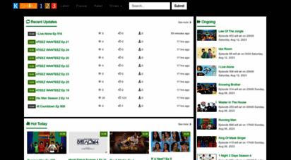 kshow123.net - korean tv shows online  kshow123