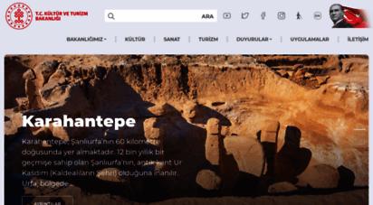 ktb.gov.tr - ana sayfa - t.c. kültür ve turizm bakanlığı