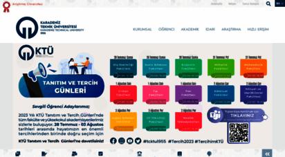 ktu.edu.tr -
