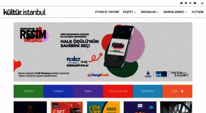 kultur.istanbul - istanbul´un kültür ve sanat etkinlikleri portalı - kültür.istanbul
