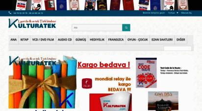 kulturatek.com - kulturatek kitabevi - lyon da ilk ve tek türk kitabevi - kulturatek