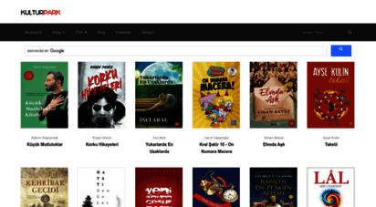 kulturpark.net - kitap özeti - dizi ve film incelemesine dair en büyük arşiv - kültürpark