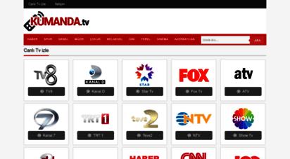 kumanda.tv - canlı tv izle - canlı kesintisiz hd tv izle