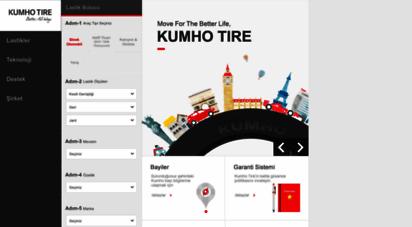 kumho.com.tr - kumho türkiye, kumho lastik