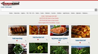 kursunkalem.com - kurşun kalem - eğitim, haber ve paylaşım platformu