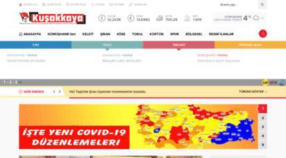 kusakkaya.com.tr - gümüşhane kuşakkaya gazetesi - reklam