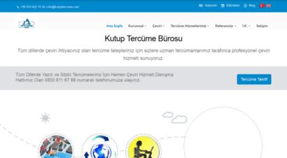 kutuptercume.com - kutup yeminli tercüme proje turizm danışmanlık çeviri hizmetleri