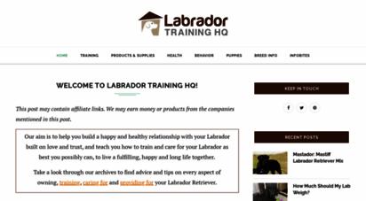labradortraininghq.com - labrador training hq - everything labrador retriever