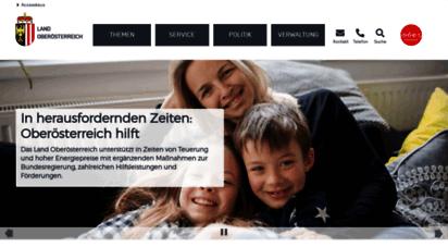 land-oberoesterreich.gv.at - land oberösterreich - homepage