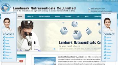 Welcome to Landmarkchem com - Steroid powders, Hormone Raw