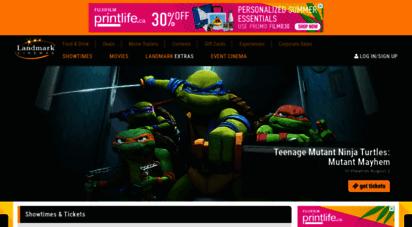 landmarkcinemas.com - cinema listings  cinema times  landmark cinemas