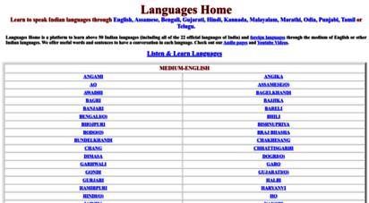 languageshome.com - languages home