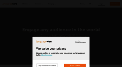 languagewire.com - welcome to languagewire - page title