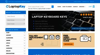 laptopkey.com - laptop keys replacement  $3.79 keyboard keys - laptopkey.com