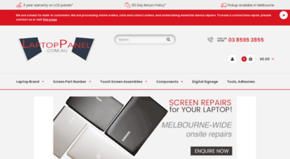 laptoppanel.com.au - laptop screen, replacing notebook lcd panels best price cheapest screens