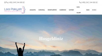 larapsikiyatri.com - lara psikiyatri, psikoterapi ve danışmanlık hizmetleri