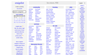 Craigslist Las Cruces Nm >> Welcome To Lascruces Craigslist Org Craigslist Las Cruces