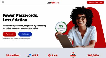 lastpass.com - 1 password manager & vault app, enterprise sso & mfa  lastpass