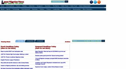 latestnigeriannews.com - latest nigerian news - nigerian newspapers - online nigeria news
