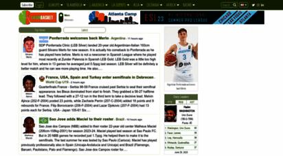 latinbasket.com - latin american basketball main page - latinbasket.com
