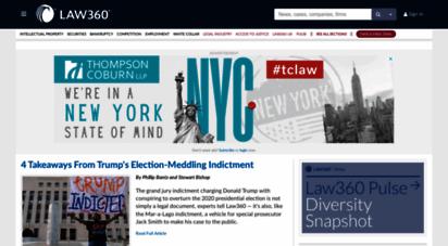 law360.com - legal news & anlysis on litigation, policy, deals : law360