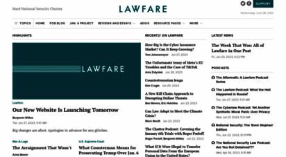 lawfareblog.com -