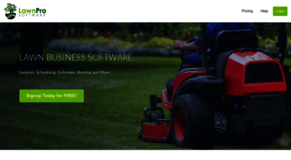 Welcome to Lawnprosoftware com - Lawn Care Software for Mac, Pc