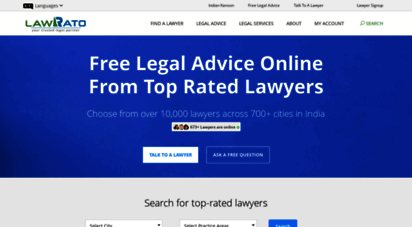 lawrato.com - lawrato  hire lawyers online for legal advice in india