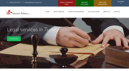 lawyer-turkey.com - turkish lawyers oriented towards foreign investors
