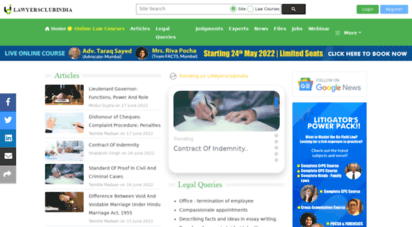 lawyersclubindia.com - lawyersclubindia - law, lawyers, advocates, law firms,legal help, legal experts,judgements, social network for lawyers, legal community, law help, indian lawyers