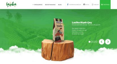 lazika.com.tr - lazika: yüksek köylerden mayıs sürgünü doğal siyah çay, 2.5 yaprak el yapımı yeşil çay. - lazika