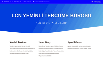 lcntercume.com - yeminli tercüme bürosu lcn yeminli tercüme bürosu