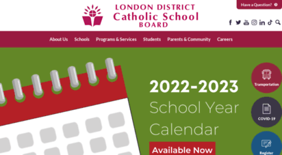 ldcsb.ca - london district catholic school board