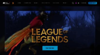leagueoflegends.com - league of legends