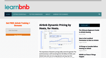 Welcome to Learnairbnb com - Expert Airbnb Host Tips