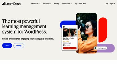 learndash.com - wordpress lms plugin by learndash®